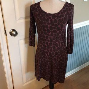 Boden Purple Scoop Neck Dress in size 8